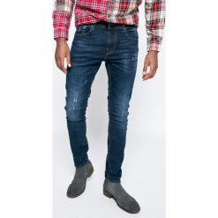 Guess Jeans - Jeansy. Niebieskie jeansy męskie skinny marki House, z jeansu. W wyprzedaży za 299,90 zł.