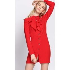 Czerwona Sukienka Stagy. Czerwone sukienki hiszpanki Born2be, uniwersalny, mini. Za 79,99 zł.
