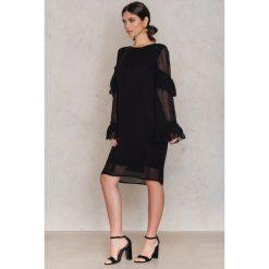 Sukienki hiszpanki: Gestuz Sukienka Pears LS - Black