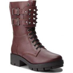 Trapery EVA MINGE - Arancon 4A 18DP1372519E 134. Czerwone buty zimowe damskie Eva Minge, z materiału. W wyprzedaży za 379,00 zł.
