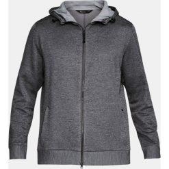 Bluzy męskie: Under Armour Bluza męska Sportstyle Sweater Fleece Full Zip szara r. M (1303818-090)