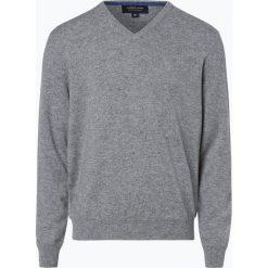 Swetry klasyczne męskie: Andrew James – Sweter męski z czystego kaszmiru, szary