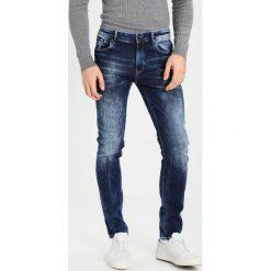 Petrol Industries SEAHAM  Jeansy Slim Fit dark steel. Niebieskie jeansy męskie marki Petrol Industries. W wyprzedaży za 224,25 zł.