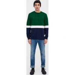 Bluzy męskie: Bluza z kontrastowymi elementami
