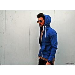 Bluzy męskie: BLUZA HOODIE JEANS UNISEX kolory