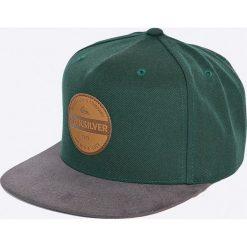 Quiksilver - Czapka Pier Pressure. Szare czapki z daszkiem męskie Quiksilver, z tkaniny. W wyprzedaży za 89,90 zł.