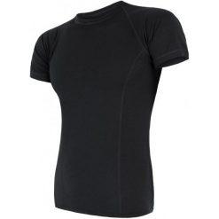 Odzież termoaktywna męska: Sensor Koszulka Termoaktywna Merino Air M Black Xl