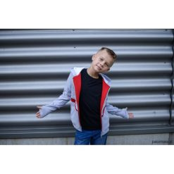 Odzież chłopięca: Bluza chłopięca Red szara