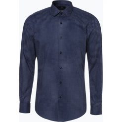 BOSS - Koszula męska – Jenno, niebieski. Czarne koszule męskie na spinki marki Boss, m. Za 499,95 zł.