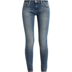 Rurki damskie: Wrangler Jeans Skinny Fit stone blue denim