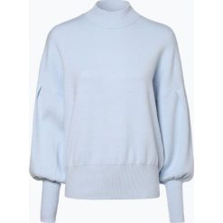 Y.A.S - Sweter damski – Yasfonny, niebieski. Niebieskie swetry klasyczne damskie Y.A.S, l, prążkowane. Za 219,95 zł.