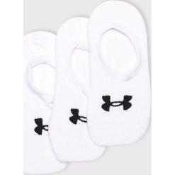 Under Armour - Skarpetki (3-pack). Białe skarpetki damskie Under Armour, z elastanu. W wyprzedaży za 39,90 zł.