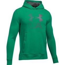Bluzy męskie: Under Armour Bluza męska Threadborne Graphic Hoodie zielona  r. XL (1299143-933)