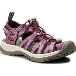 Sandały KEEN - Whisper 1018229 Grape Kiss/Grape Wine. Fioletowe sandały damskie Keen, z materiału. W wyprzedaży za 259,00 zł.