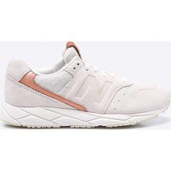 New Balance - Buty WRT96EAA. Szare buty sportowe damskie marki adidas Originals, z gumy. W wyprzedaży za 249,90 zł.