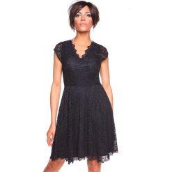 """Sukienki hiszpanki: Sukienka """"Denta"""" w kolorze czarnym"""
