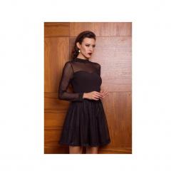 Sukienka tiulowa czarna. Czarne sukienki hiszpanki JO-LI, na imprezę, xs, z lycry. Za 480,00 zł.