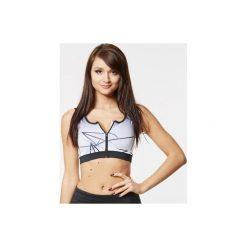 Topy sportowe damskie: SFD POWER WEAR Top damski lines zip r. XS