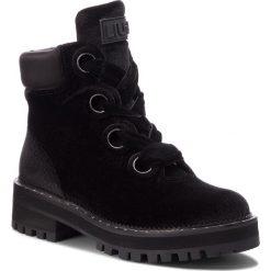 Trapery LIU JO - Pink 01 S68089 TX010 Black 22222. Czarne buty zimowe damskie marki Liu Jo, z materiału. Za 869,00 zł.