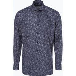 Van Graaf - Koszula męska, niebieski. Szare koszule męskie marki S.Oliver, l, z bawełny, z włoskim kołnierzykiem, z długim rękawem. Za 199,95 zł.