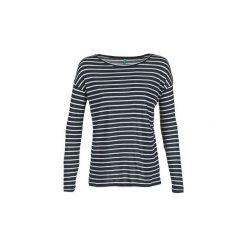 T-shirty z długim rękawem Benetton  MOUIDOU. Niebieskie t-shirty damskie marki Benetton, xs. Za 87,20 zł.