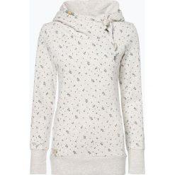 Ragwear - Damska bluza nierozpinana – Beat Print Organic, czarny. Czarne bluzy damskie marki Ragwear, l, z bawełny. Za 349,95 zł.