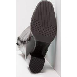 Ecco SHAPE CHALET PLATFORM Kozaki na platformie black. Czarne buty zimowe damskie ecco, z materiału, na platformie. W wyprzedaży za 649,35 zł.