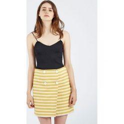 Minispódniczki: Spódnica Falda Amarilla Starfruit