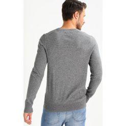 Swetry klasyczne męskie: Abercrombie & Fitch FINE GAUGE Sweter med grey