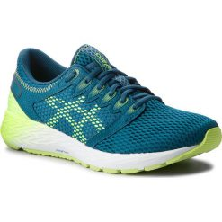 Buty ASICS - RoadHawk FF 2 1011A136 Deep Aqua/Flash Yellow 401. Zielone buty do biegania męskie Asics, z materiału. W wyprzedaży za 349,00 zł.