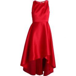Mint&berry Długa sukienka red. Czerwone długie sukienki marki mint&berry, z elastanu, z długim rękawem. Za 429,00 zł.