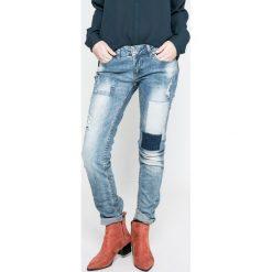 Fresh Made - Jeansy. Niebieskie boyfriendy damskie Fresh Made, z obniżonym stanem. W wyprzedaży za 89,90 zł.