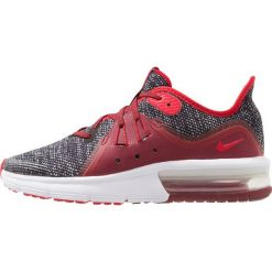 Nike Performance AIR MAX SEQUENT 3 Obuwie do biegania treningowe black/universal red/white/team red. Czarne buty do biegania damskie Nike Performance, z materiału. Za 359,00 zł.