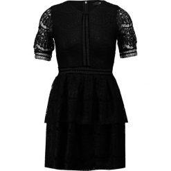 Sukienki hiszpanki: Missguided Petite FULL LAYERED MINI DRESS  Sukienka koktajlowa black