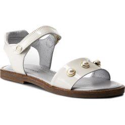 Sandały dziewczęce: Sandały STUART WEITZMAN – B182600 S A-White (Charol)
