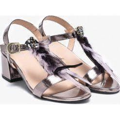 Gioseppo - Sandały. Czerwone sandały damskie marki Born2be, na wysokim obcasie, na szpilce. W wyprzedaży za 199,90 zł.