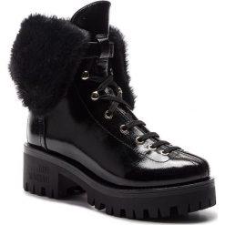 Trapery LOVE MOSCHINO - JA24196H06JE0000  Nero. Czarne buty zimowe damskie marki Love Moschino, z materiału. Za 1349,00 zł.