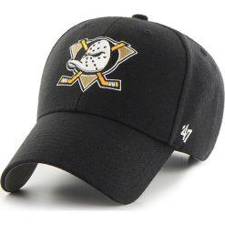 47brand - Czapka Nhl Anaheim Ducks. Czarne czapki z daszkiem męskie 47brand. W wyprzedaży za 59,90 zł.