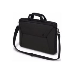 Torby podróżne: Slim Case EDGE 14-15.6 (D31209) Czarny Torba na laptopa DICOTA