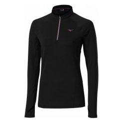 Bluzy rozpinane damskie: Mizuno Bluza Sportowa Warmalite Top W Black L