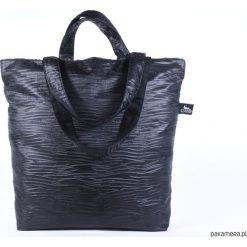 Torba Waves. Czarne torebki klasyczne damskie Pakamera, z bawełny. Za 159,00 zł.