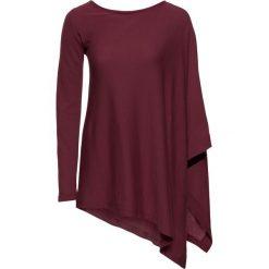 Swetry klasyczne damskie: Sweter bonprix bordowy