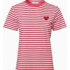 Marie Lund - T-shirt damski, czerwony. Niebieskie t-shirty damskie marki Marie Lund, l, z haftami. Za 59,95 zł.