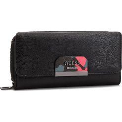 Duży Portfel Damski GUESS - SWBC64 22620  BLA. Czarne portfele damskie Guess, ze skóry ekologicznej. Za 279,00 zł.