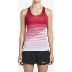 Koszulka do biegania damska SAUCONY ENDORPHIN SINGLET / SAW800094-LP - ENDORPHIN SINGLET. Niebieskie bluzki damskie marki bonprix, z nadrukiem, na ramiączkach. Za 90,00 zł.