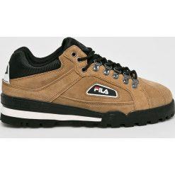 Fila - Buty Trailblazer S. Szare buty skate męskie Fila, z materiału, na sznurówki. Za 519,90 zł.