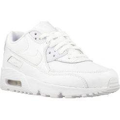 Buciki niemowlęce: Nike Buty dziecięce Air Max 90 Ltr GS białe r. 36 (833412-100)