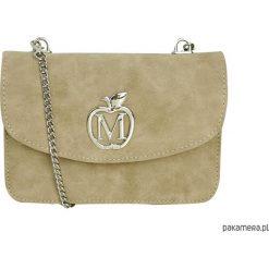 Portfele damskie: MANZANA mini listonoszka koperta portfel 3w1 beż