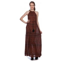 Brave Soul Sukienka Damska Maria S Wielokolorowy. Czarne sukienki marki Fille Du Couturier. W wyprzedaży za 119,00 zł.