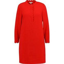 Sukienki hiszpanki: Whistles SCALLOPED CREPE DRESS Sukienka koszulowa red